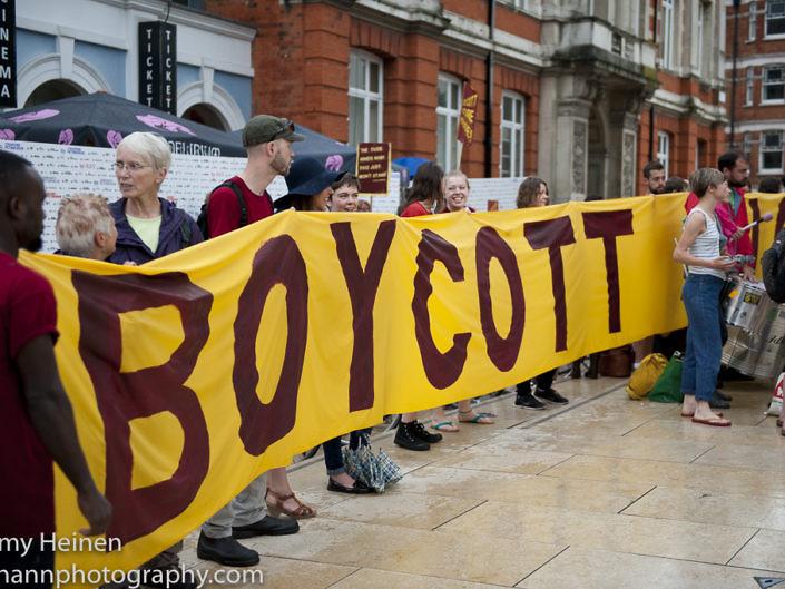 Ritzy Living Wage Boycott
