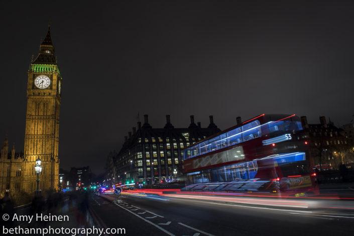 London at Night 2017